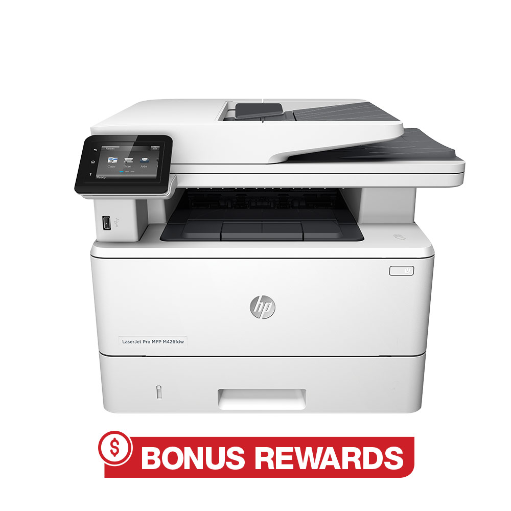 30% back in rewards with purchase of any HP laser printer online only (1)