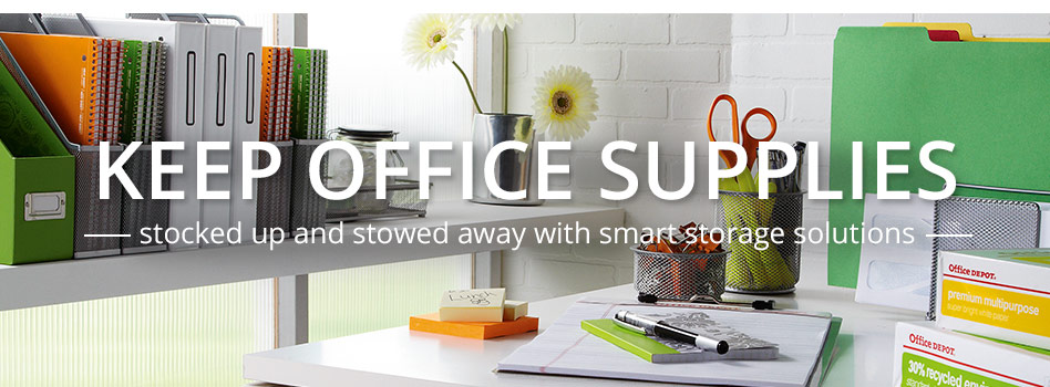 Merveilleux Keep Office Supplies Stocked Up And Stowed Away With Smart Storage Solutions