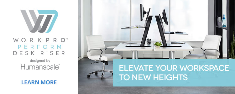 Workpro Perform Desk Risers- Elevate Your Workspace to New Heights