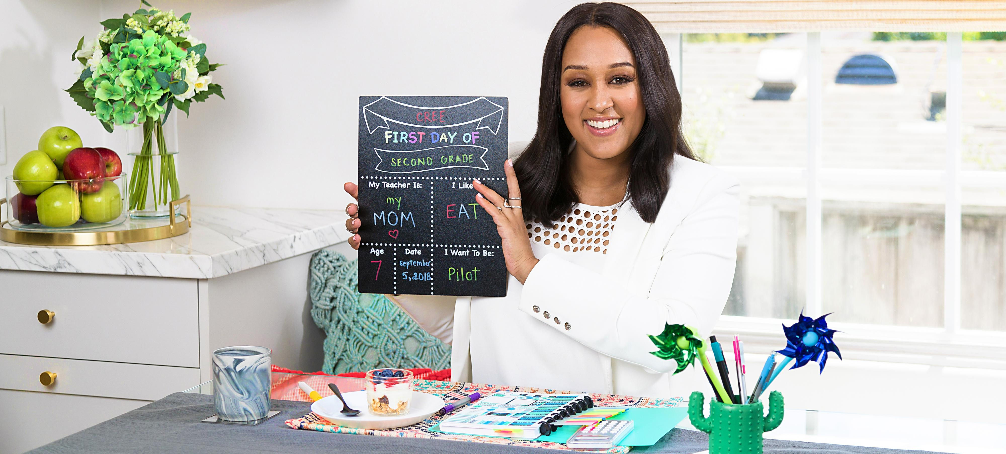 Tia Mowry's Top 5 Tips for Back to School at Office Depot & Office Max