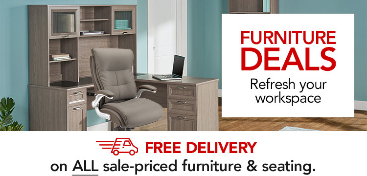 Furniture Deals PLUS Free Delivery on ALL Sale-Priced Furniture & Seating