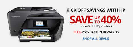 Kick Off Savings With HP