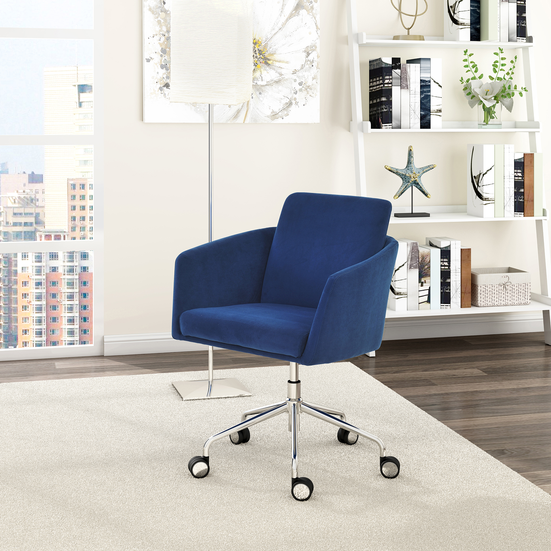Elle Decor Vevey Mid Back Chair