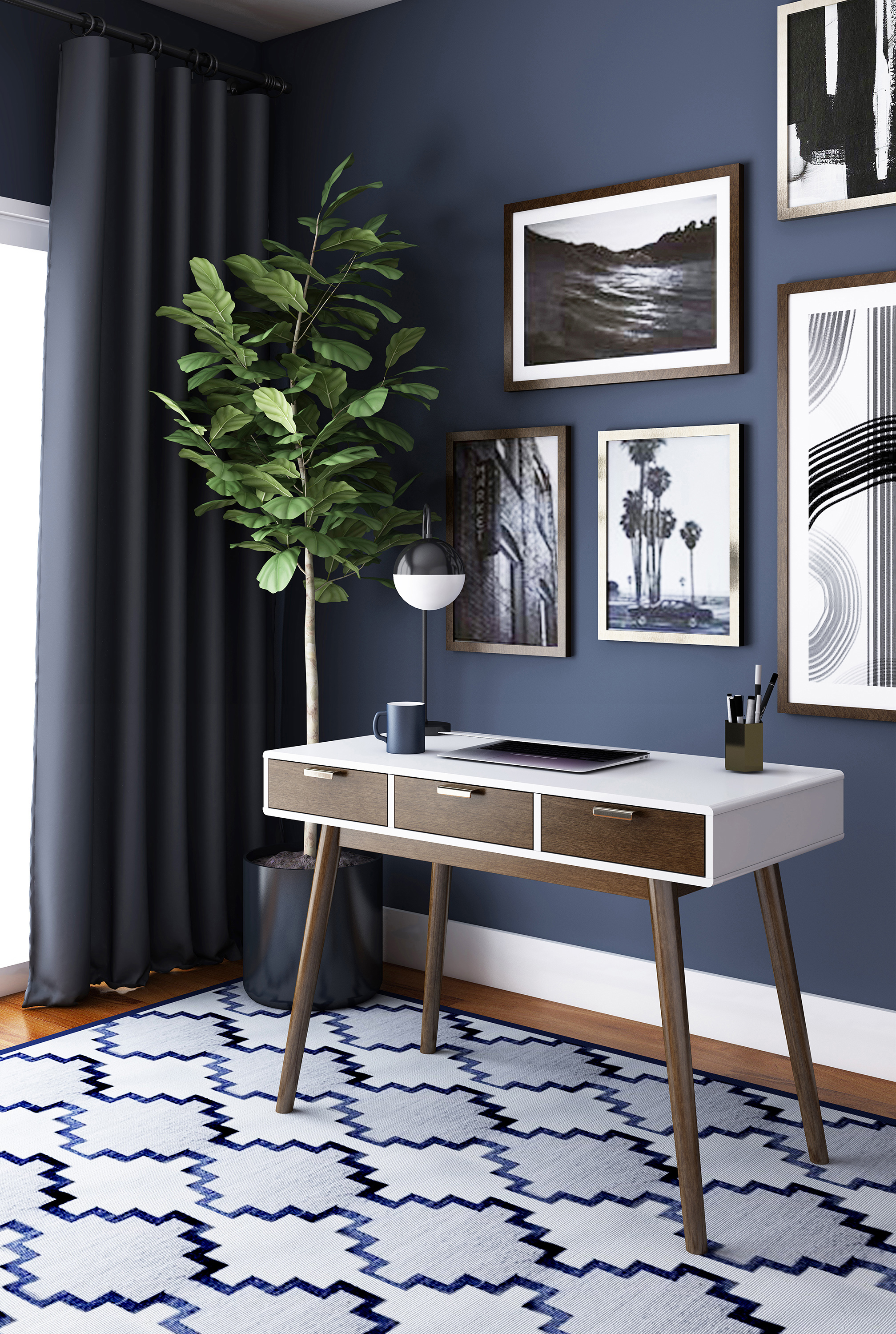 Elle Decor Stara Desk