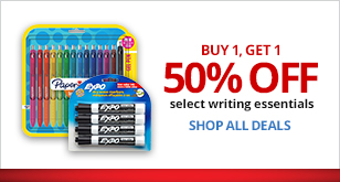 50% Off Writing