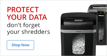 Protect your data - don't forget your shredders