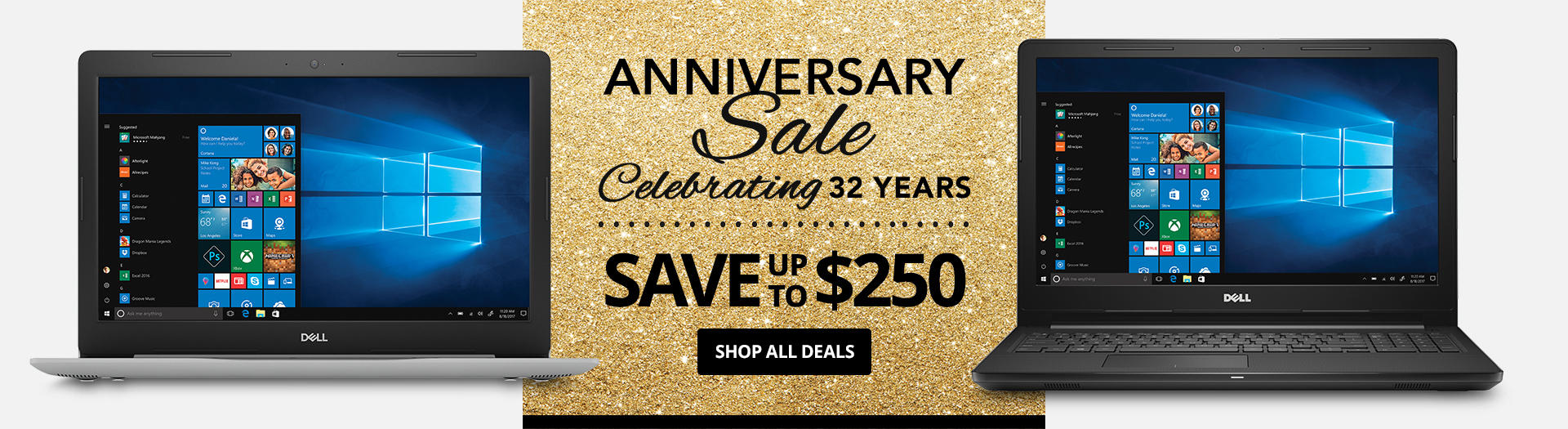 Its our 32nd Anniversary! Enjoy savings up to xx%