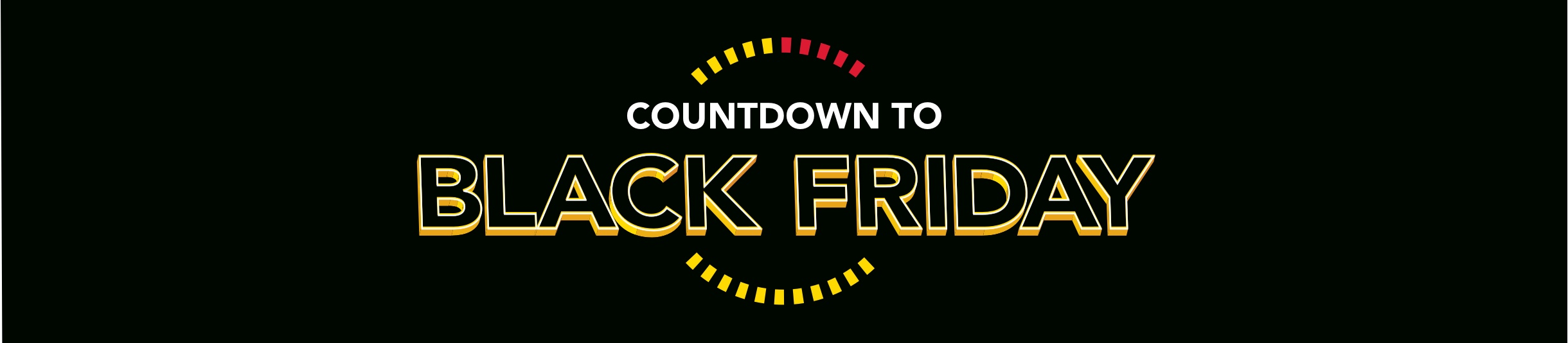 Black Friday 2018 Countdown