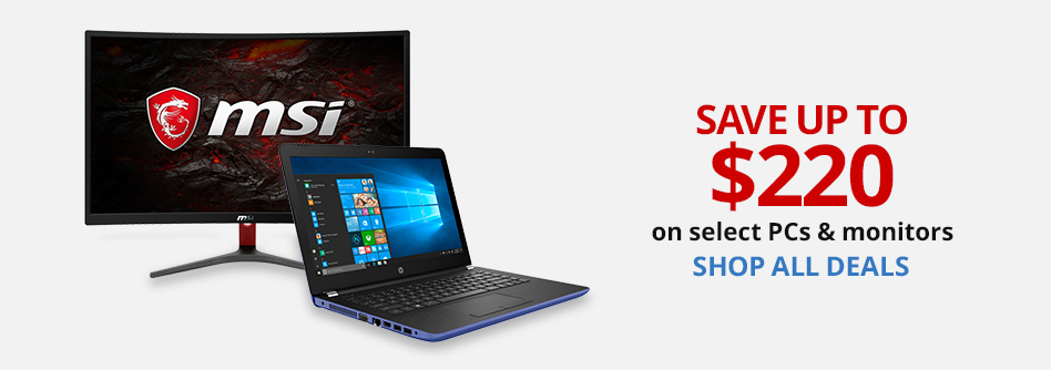 Save Up To $200 On Select PCs