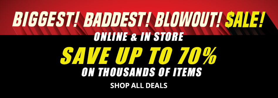 Biggest Baddest Blowout Sale Large