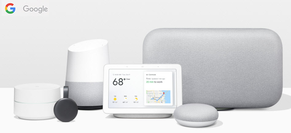 Google - Home, Home Mini, Chromecast, WiFi