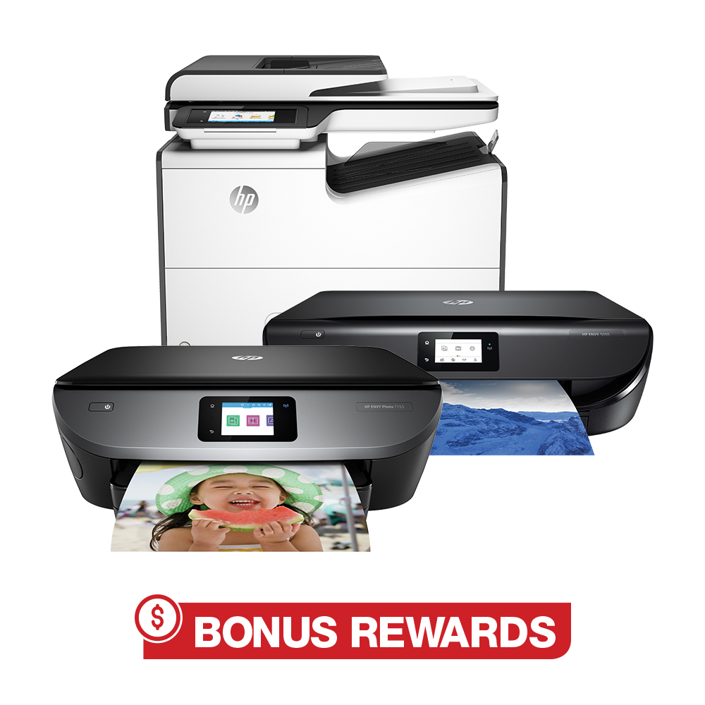 20% back in rewards with purchase of any HP laser printer online only