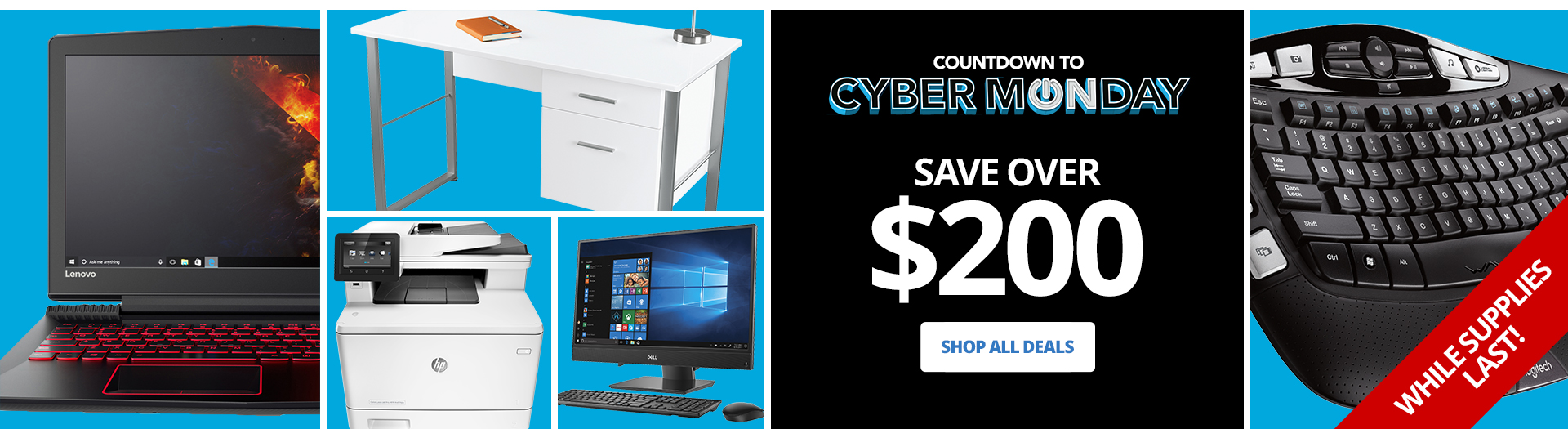 Countdown To Cyber Monday Save Over $200