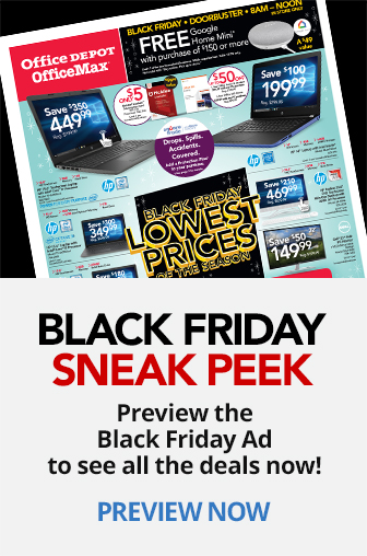 Black Friday Sneak Peek Preview The Black Friday Ad to see all the deals now!