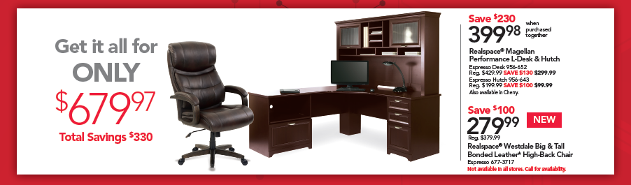 Get it all for ONLY $679.97 - Total Savings $330