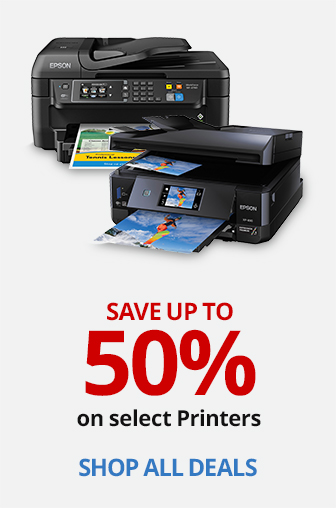 Save up to 40% on select HP Inkjet Printers PLUS 20% Back in Rewards