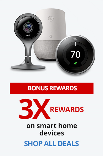 3X Rewards On Smart Home Devices