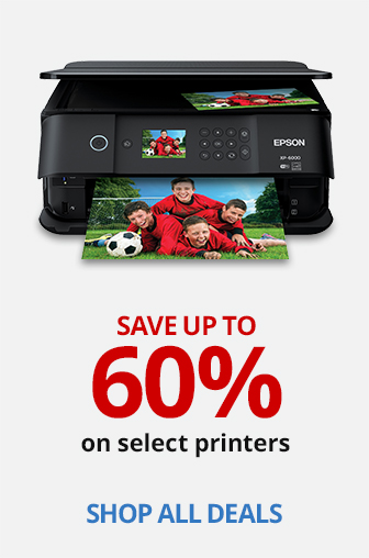 Save Up To 60% On Select Printers