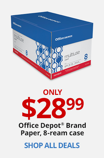 Office Depot® Brand Multiuse Paper 8-ream case
