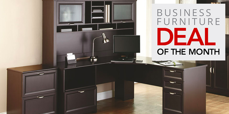 Business Deal of the Month- Realspace Magellan Performance L-Desk & Hutch
