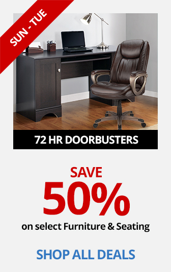 Save 50% On Select Furniture and Seating