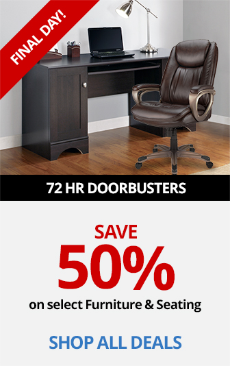 Save 50% On Select Furniture & Seating