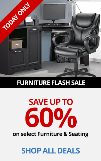 Save Up To 60% On Select Furniture and Seating