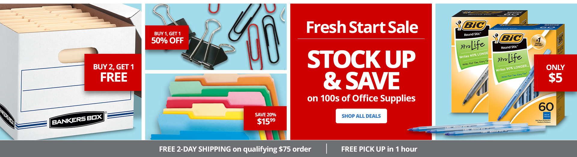 Stock up & Save - Office Supplies