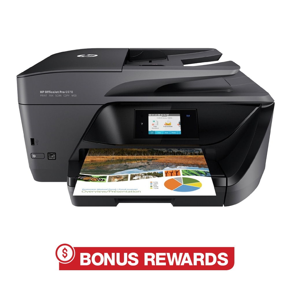 25% Back in Rewards HP OfficeJet Pro 6978 All-in-One Wireless Printer