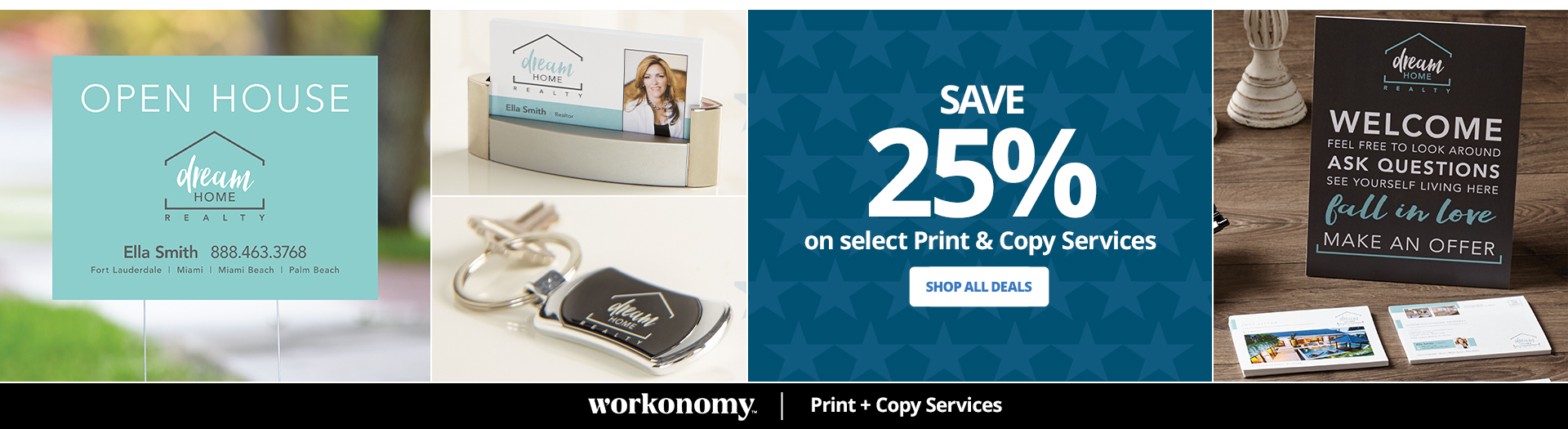 Save 25% on almost ALL Print and Copy services
