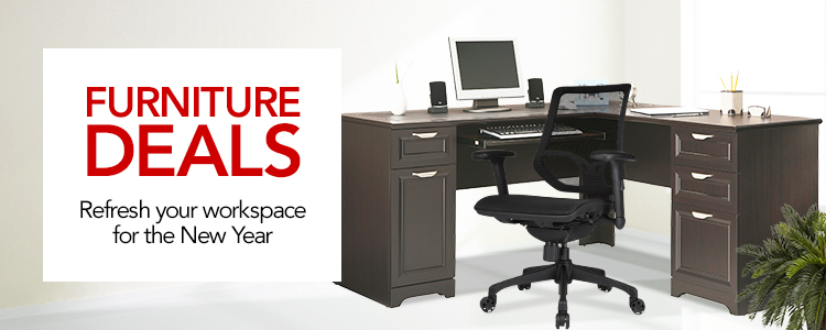 Furniture Deals- Refresh Your Workspace for the New Year