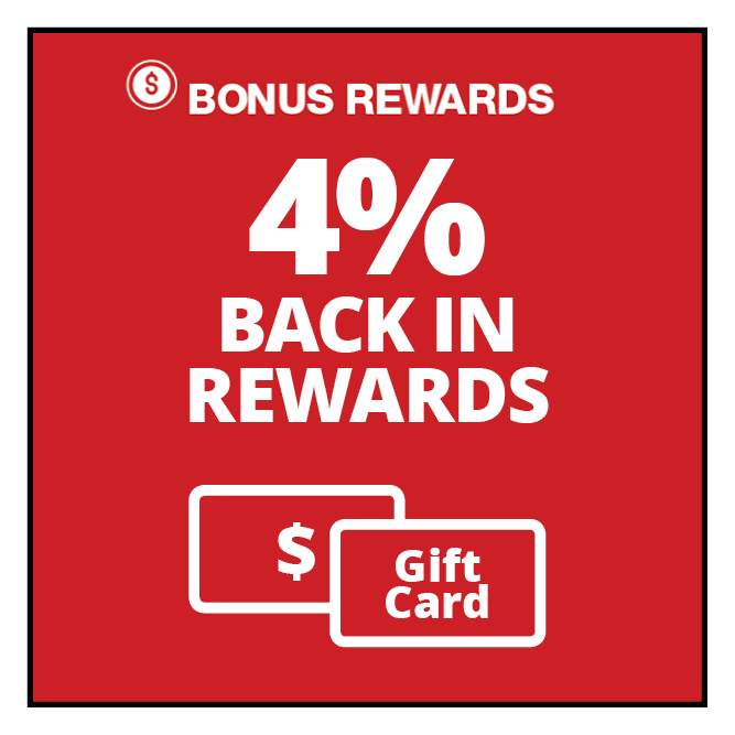 double rewards - Offer valid only on Apple App Store & iTunes, Disney, Google, Starbucks®, Nordstrom, Macys®, Kohls®, & Outback Steakhouse®.