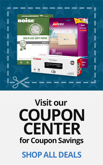 Visit Our Coupon Center for Coupon Savings