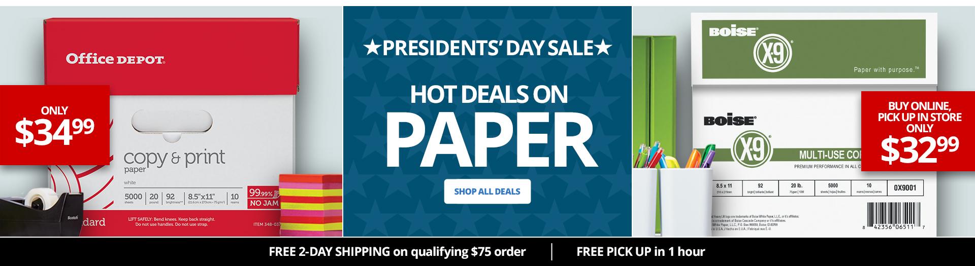 Hot Deals On Paper