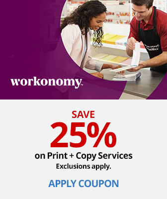 Save 25% on Print and Copy Services
