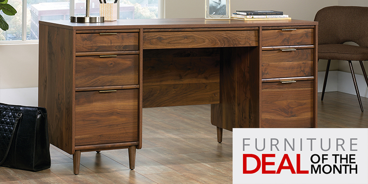 Sauder Clifford Place Executive Desk