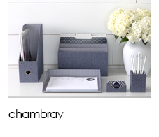 Shop Chambray Collection