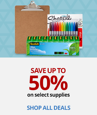 Save up to 50% on Office Supplies
