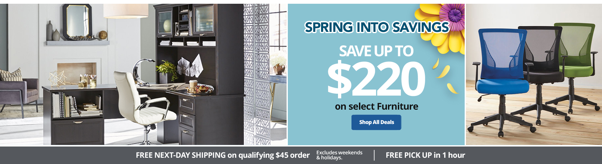 Slam Dunk Savings! | Save up to $220 on select Furniture
