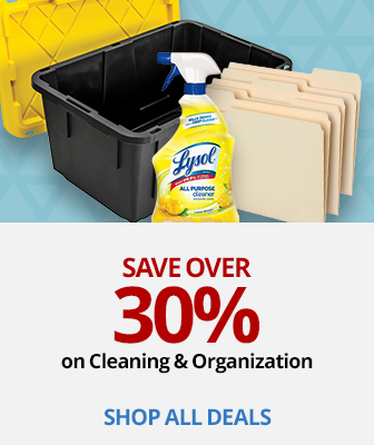 Save Over 30% On Spring Cleaning & Organization