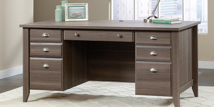 Sauder Shoal Creek Executive Desk