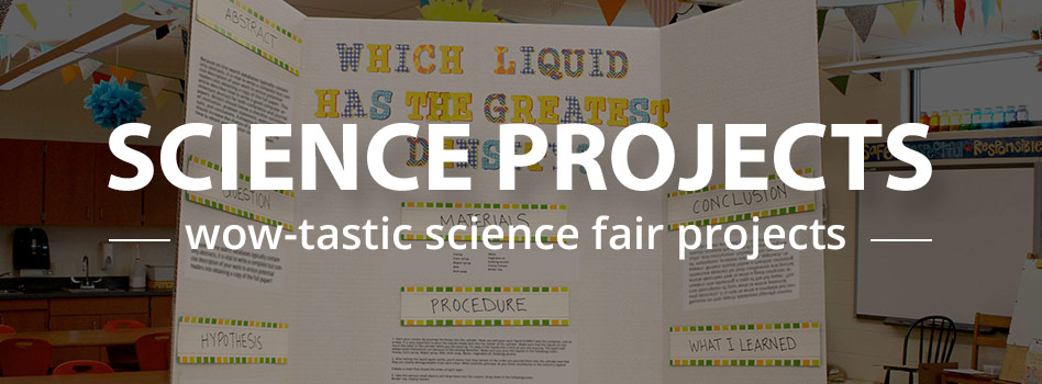 PLease help..I have a science project that is due on wednesday for the sciene fair?