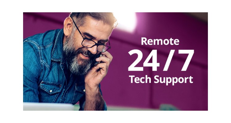 Remote 24/7 Tech Support