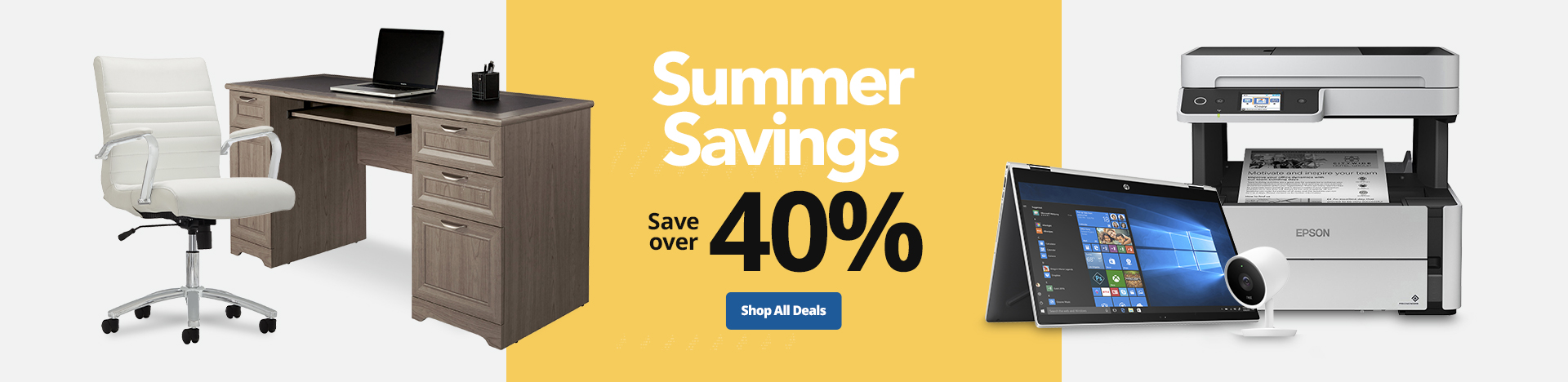 Summer Savings - Save over 40%