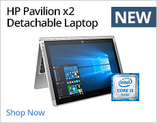 HP Pavilion x2 Detachable Laptop