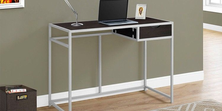 Monarch Specialties Metal Computer Desk