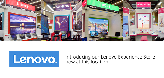 Checkout our Lenovo Experience!