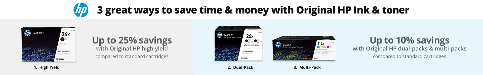 3 great ways to save time and money with Original HP ink and toner