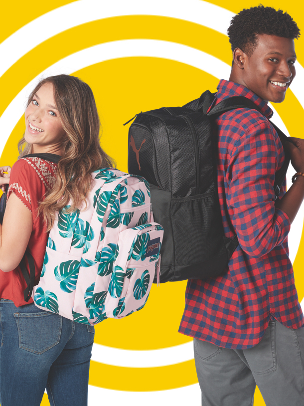25% off select Backpacks