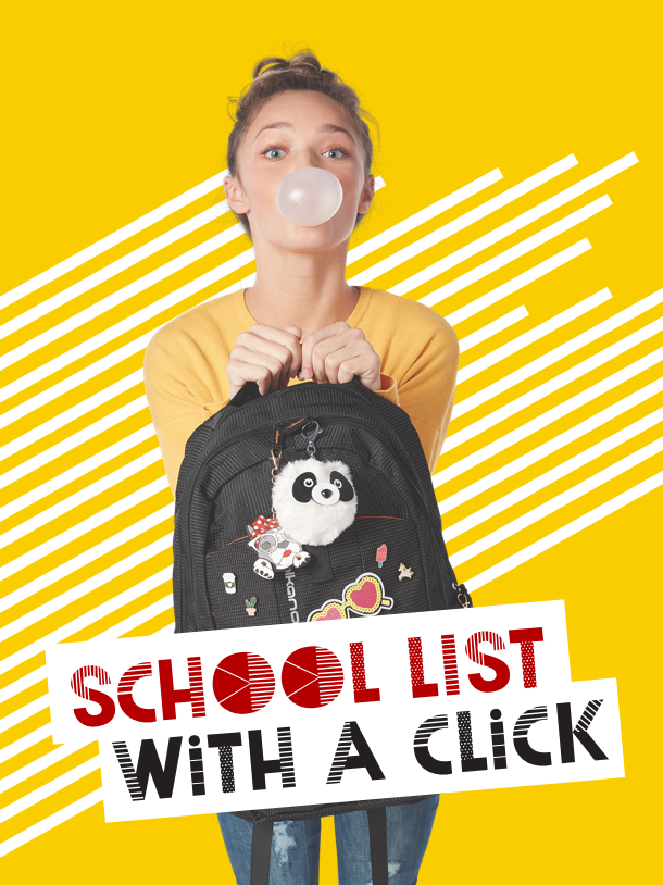 School list with a click